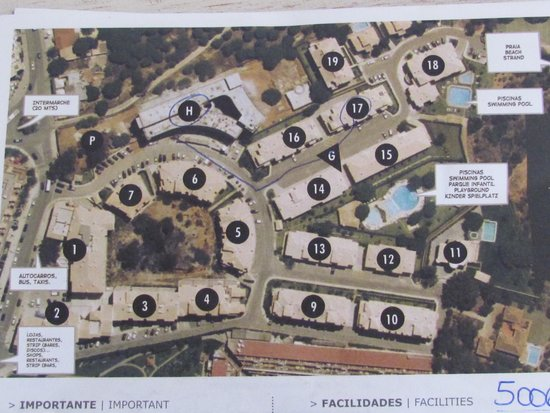 Quinta Pedra dos Bicos: Map of Blocks fyi