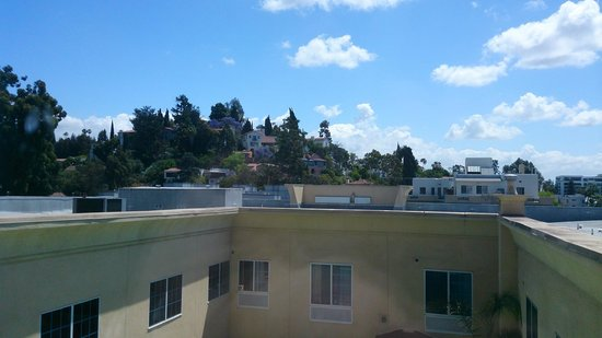 Holiday Inn Express Hotel & Suites Hollywood Hotel Walk of Fame: View from my room