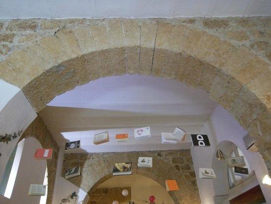 Il Mirto e la Rosa: Detalle de la decoración en techo