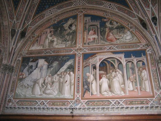 Basilica San Miniato al Monte: basilica di s. miniato - affreschi
