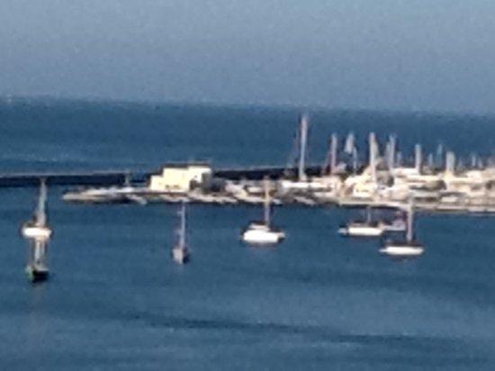 Hotel Cascais Miragem: Cascais Harbor taken from a hotel terrace
