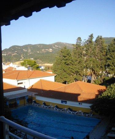 Ionia Hotel Skopelos: Η θέα από το δωμάτιο.