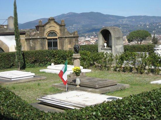 Basilica San Miniato al Monte: cimitero monumentale di s. miniato al monte