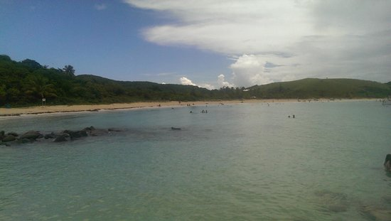 Flamenco Beach : View from East side
