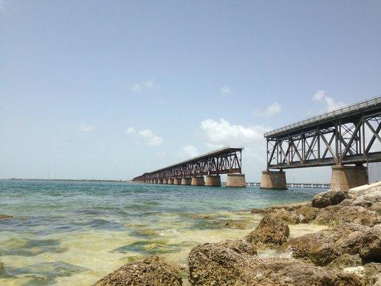 Bahia Honda State Park Campgrounds Old Flagler Bridge Strong Curs