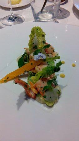 Les Hauts de Lille : Entrée pinces de homard
