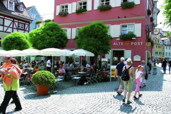 Alte Post Hotel-Gasthof: Biergarten