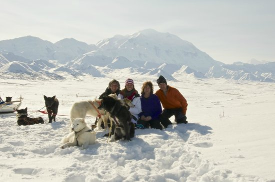 Denali Dome Home Bed and Breakfast: Beautiful Mt. Mckinley...