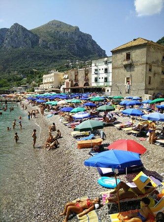 Ristorante Il Cantuccio : View from our table at lunch, at around 14:00