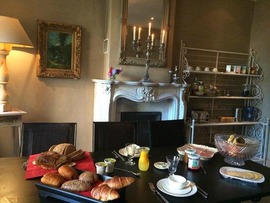 Bed and Breakfast 1669: colazione