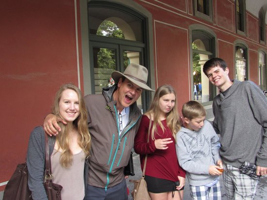 Big Hat Tours : Curt and the family