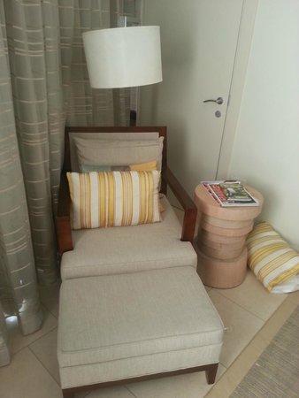 Trump Ocean Club International Hotel & Tower Panama: sofa