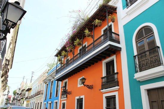 Casa típica de Old San Juan