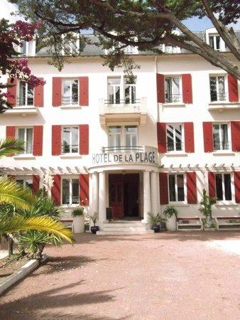 Inter-Hotel de la Plage : Façade hotel