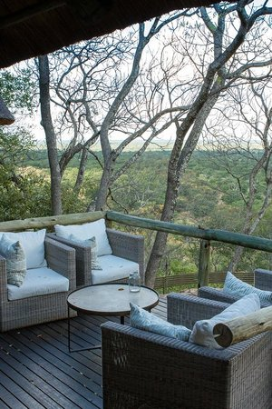 Ghoha Hills Savuti : View from the lounge area