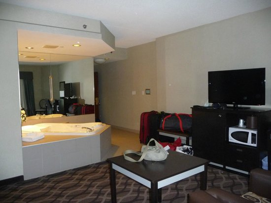 BEST WESTERN PLUS Travel Hotel Toronto Airport: Chambre avec Jacuzzi