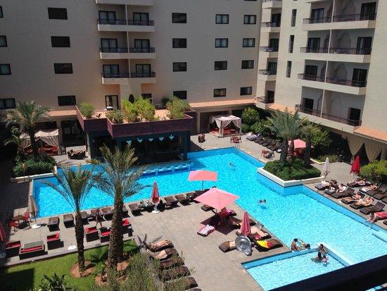 Opera Plaza Hotel: Vista dalla camera