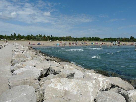 Camping Ca' Savio: Plaża