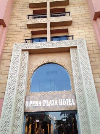 Opera Plaza Hotel: Entrata