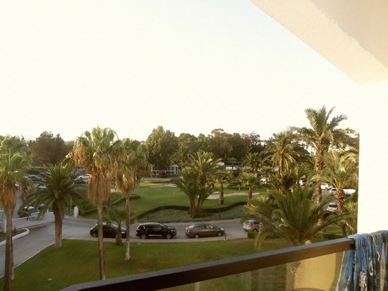 SENTIDO Phenicia: lovely views of the hotel grounds from the room