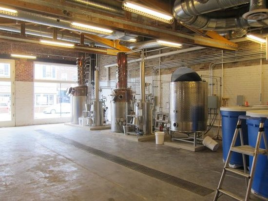 Catoctin Creek Distillery: Whiskey stills