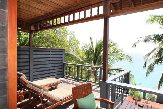 Hilton Seychelles Northolme Resort & Spa: view hilltop villa