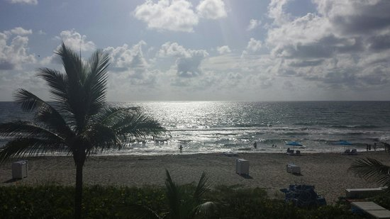 Delray Sands Resort on Highland Beach: View from my room
