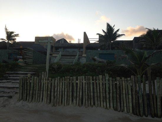 Kenoa - Exclusive Beach Spa & Resort : vista da praia