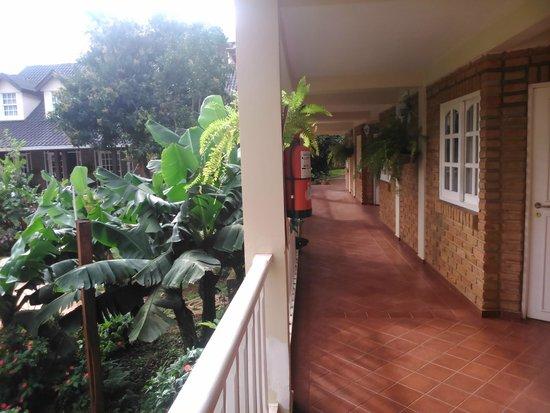 La Sorgente Hotel Posada: Pasillo habitaciones 1er Piso