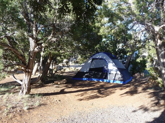 Unser Zelt am Desert View Campground