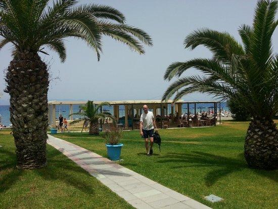 Sun Beach Resort Complex: Strandområdet