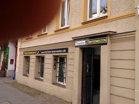 Berliner Unterwelten: Gewölbekeller der Oswald-Berliner-Brauerei Brunnenstr. 143