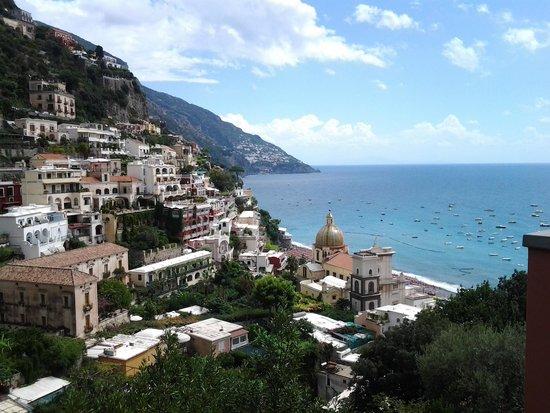 Hotel Amalfi: panorama della costiera amalfitana