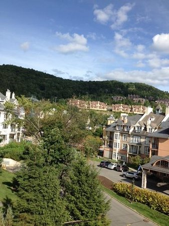 Ermitage Du Lac Tremblant : view from room