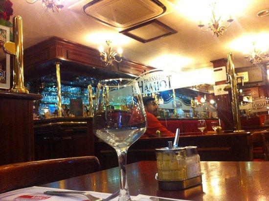 Hôtel et Restaurant Hamiot : Le bar