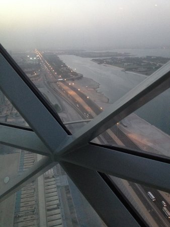 Hyatt Capital Gate: View from our room