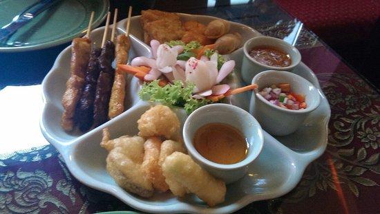 Gold Elephant Royal Thai Cuisine: Vorspeise zum Menü für 2 Personen