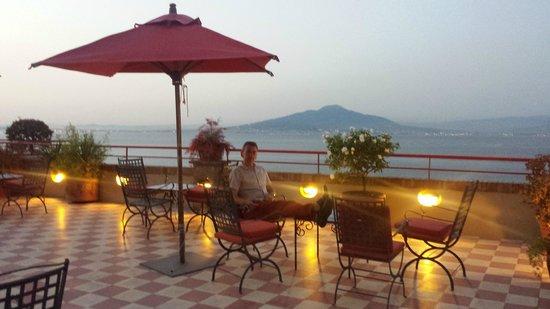 Minerva Hotel: the terrace