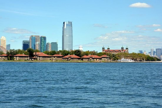 Ellis Island: View of Eliis Island from SOL.