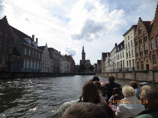 Boottochten Brugge: On the waterways boat