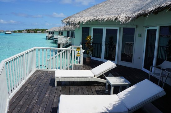 Cinnamon Dhonveli Maldives: Our Deck