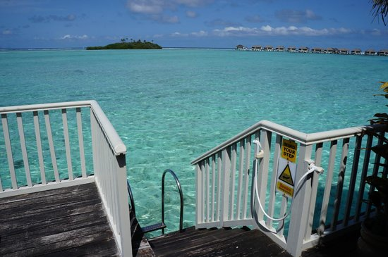 Cinnamon Dhonveli Maldives: Direct Access in to the Water