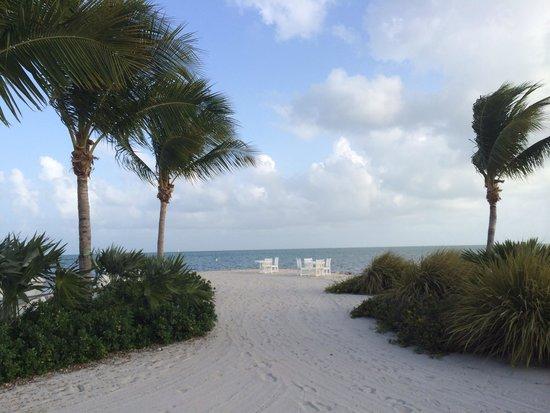 The Ocean House private beach