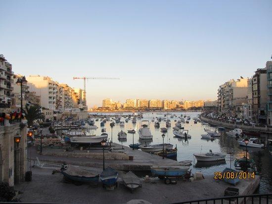 The George Hotel: St Julien harbour