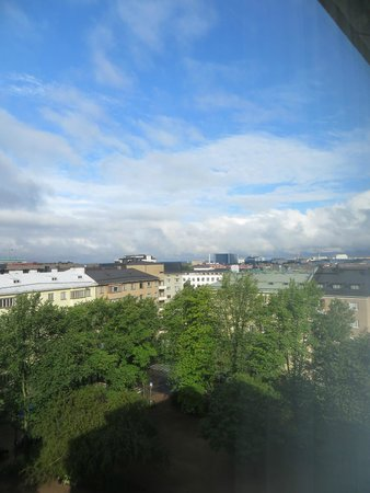 Crowne Plaza Hotel Helsinki: Through the window