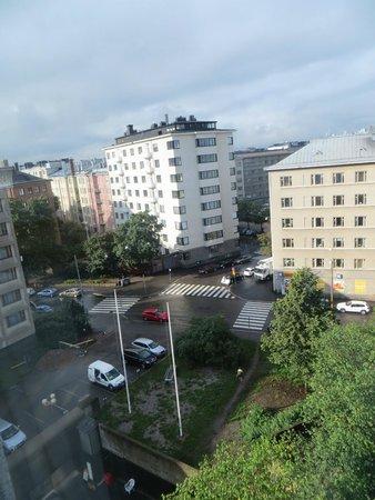 Crowne Plaza Hotel Helsinki: Through the window