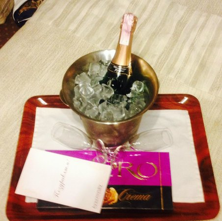 Hotel Ayvazovsky: Сюрприз от отеля на День рождения