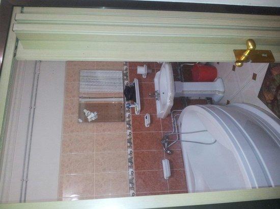 Hotel Hazem : Toilet