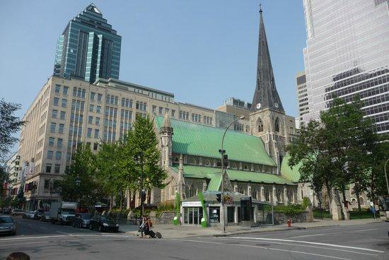 Le Square Phillips Hotel & Suites: quartier