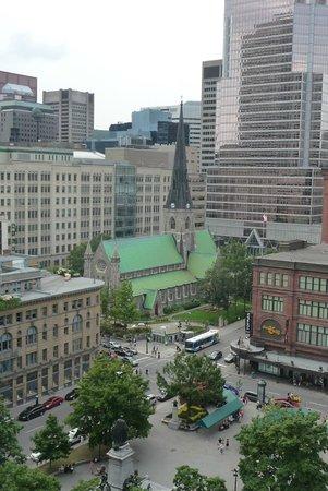 Le Square Phillips Hotel & Suites: vue de la terrasse